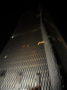 Bakrie Tower, the tall dark and 'handsome' that lurked Alain Robert the Spiderman into climbing without any safety rope attached.