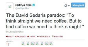 raditya dika tweet1